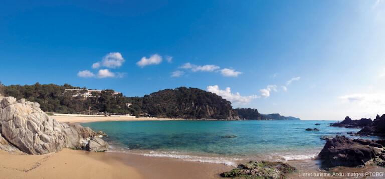 Playa de Santa Cristina. Lloret de Mar