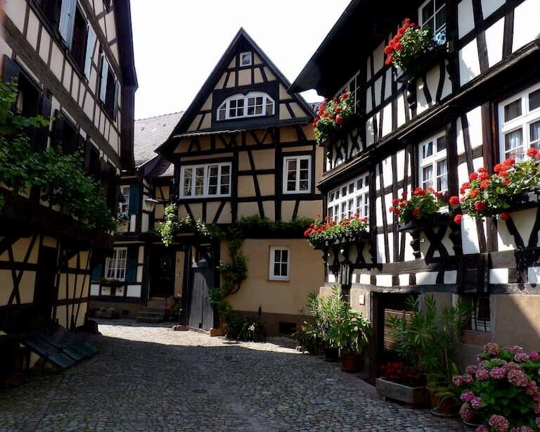 El bonito pueblo de Gengenbach