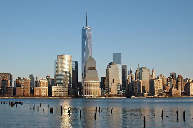 Vistas del skylinde de Nueva York