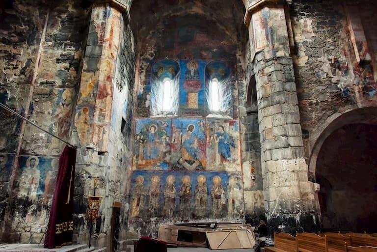 Monasterio pintado de Debed