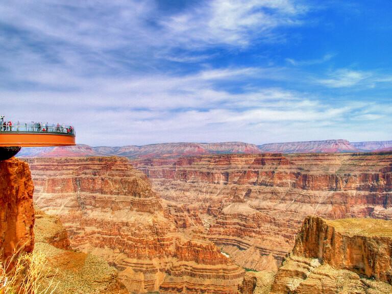 Vistas del Gran Canyon desde un mirador