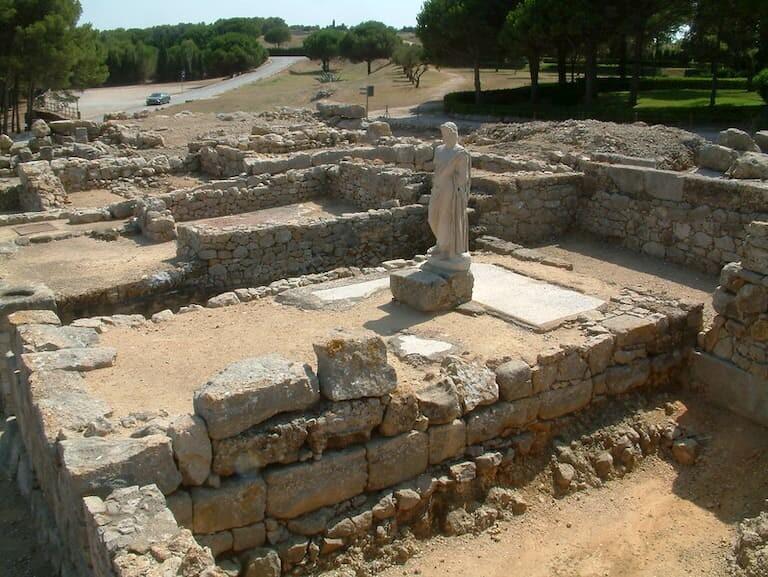 Las ruinas de Empúries