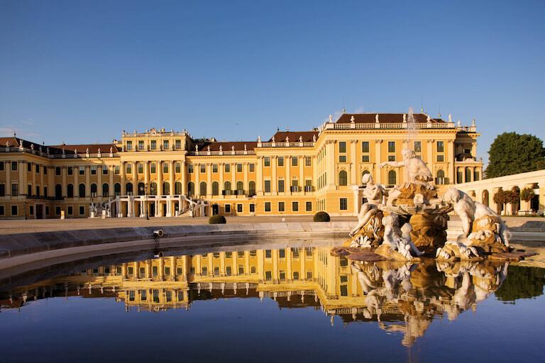 El Palacio de Schönbrunn de Viena