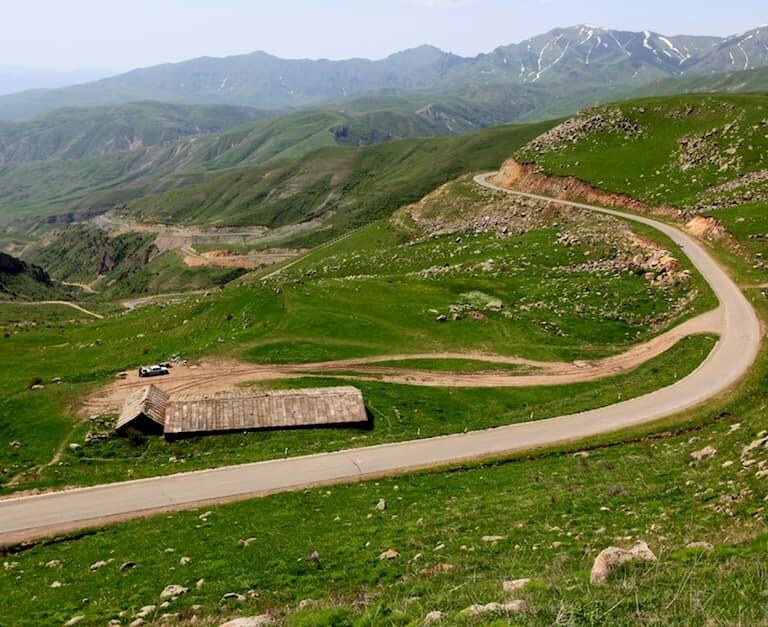 La carretera del Paso de Selim