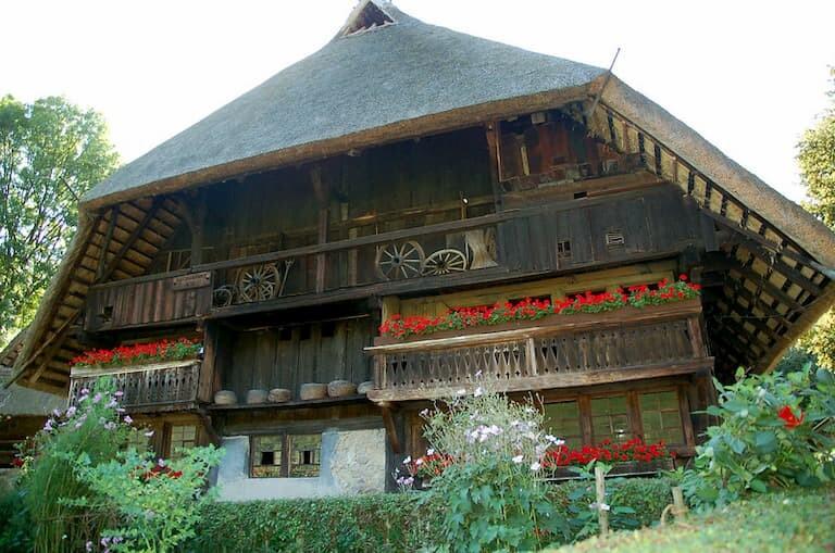 Casa del Museo Vogtsbauernhof