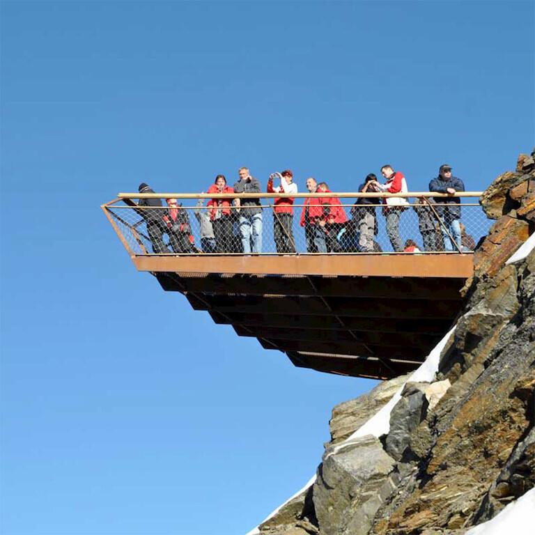 Mirador de Top of Tyrol, en Austria