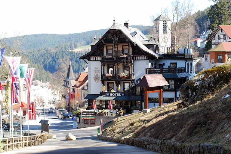 El pueblo de Triberg