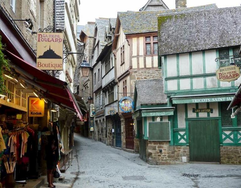 Calle del  Mont Saint Michel