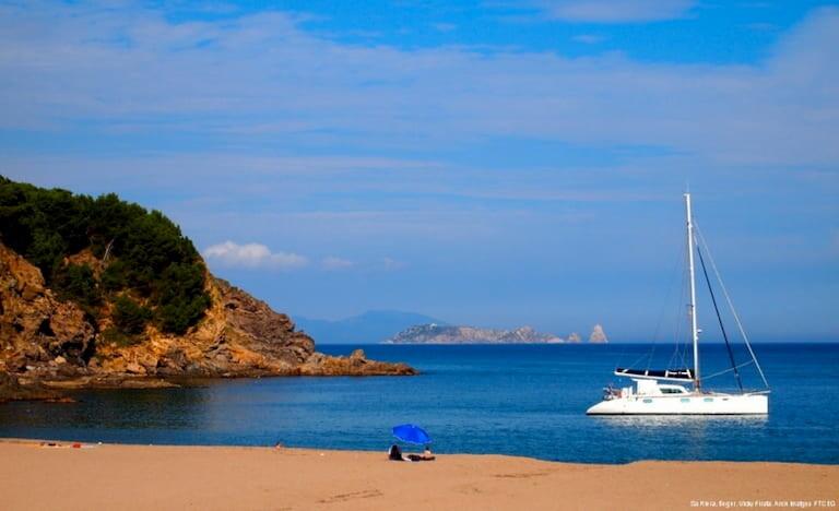 Playa Sa Riera, Begur.