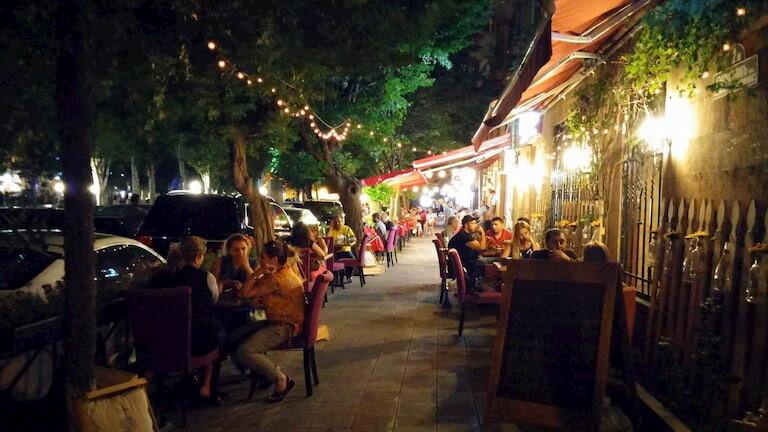 Los cafés de Yereván