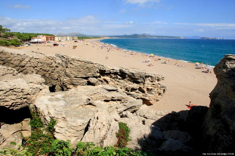 Playa de Pals.