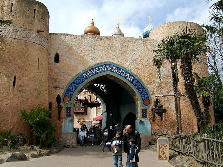 Adventureland en el Parque Disneyland de París