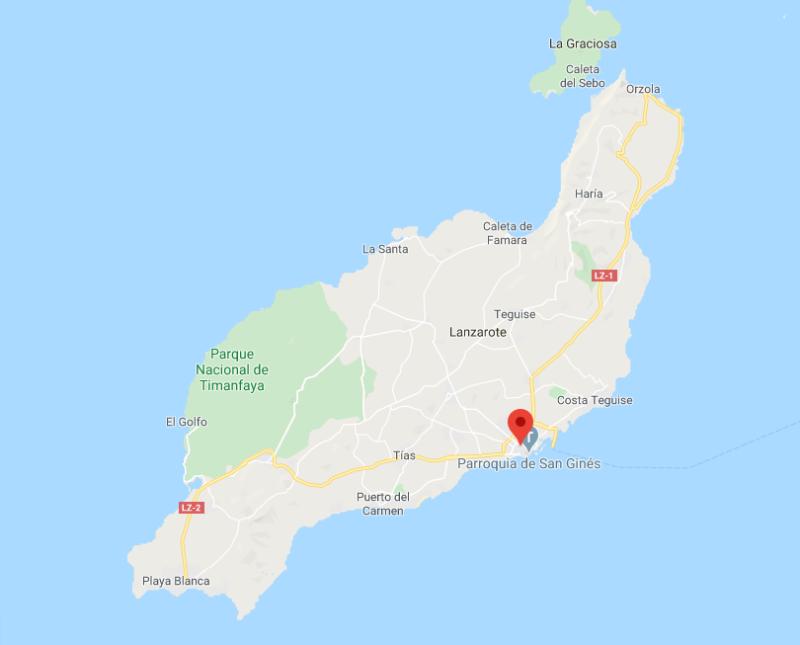 ¿Dónde se encuentra Arrecife?