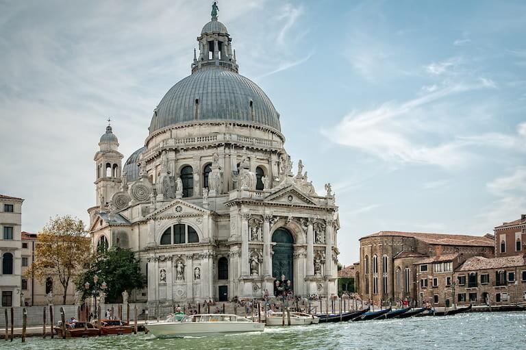 Basílica de Santa María della Salute en Venecia