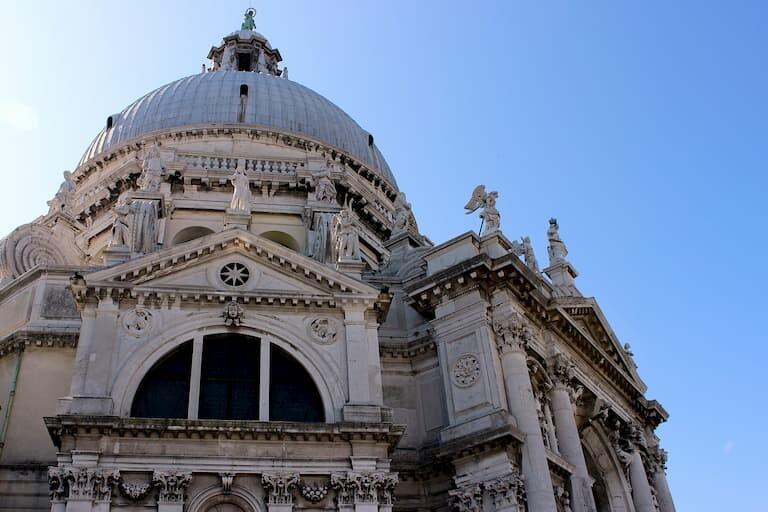 La cúpula de la Basílica de Santa Maria della Salute.