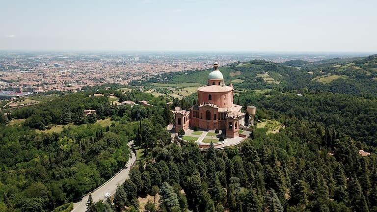 El santuario de Nuestra Señora de San Luca