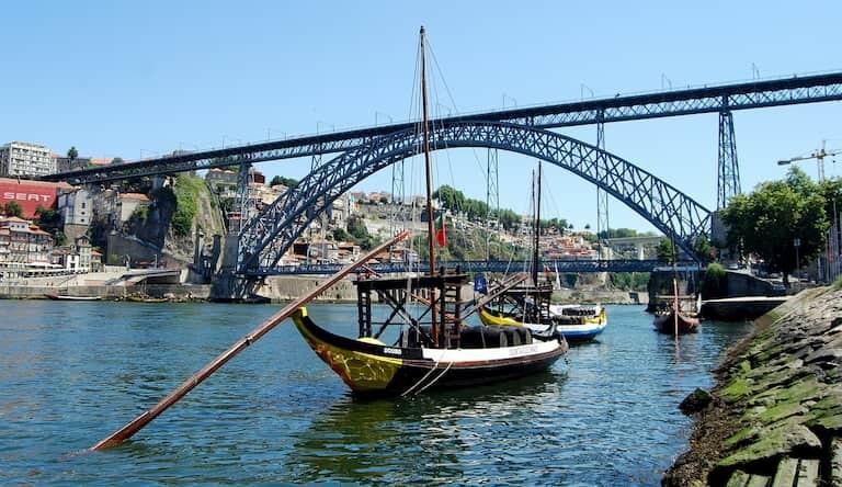 Ponte de Dom Luis de Oporto