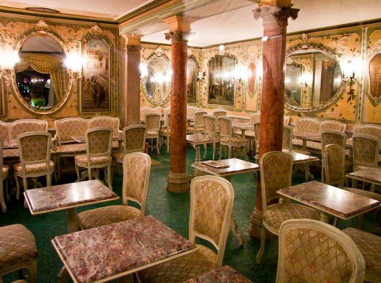 El Gran Caffè Quadri en Venecia