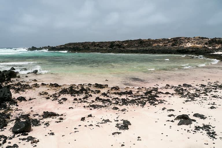La espectacular playa de Caletón Blanco.