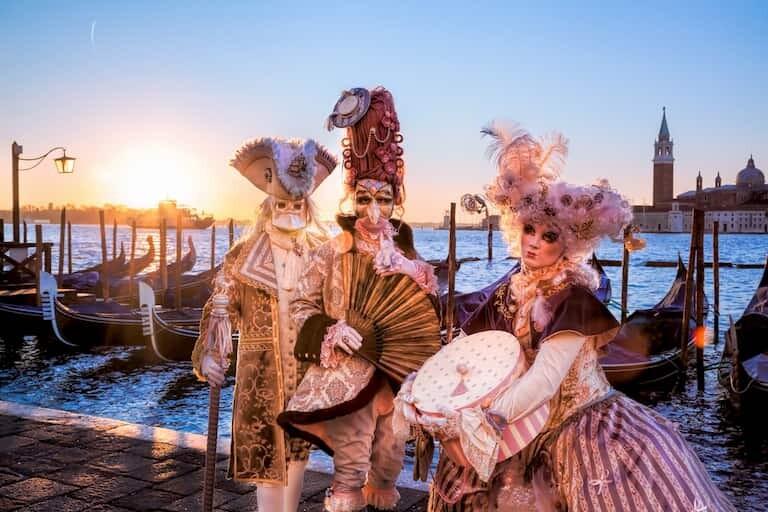 El espectacular Carnaval de Venecia