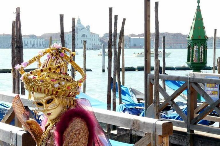 Fotografía del Carnaval de Venecia (2009)