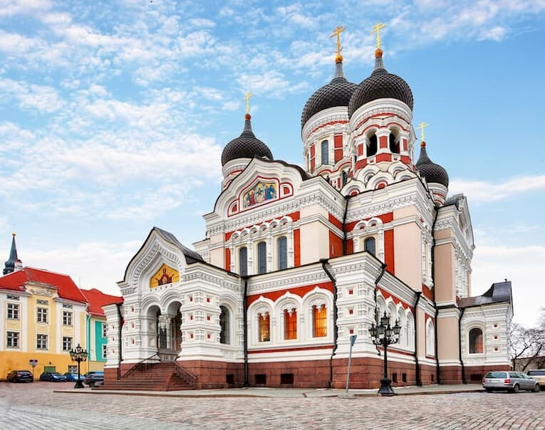 La Catedral Ortodoxa de Tallin