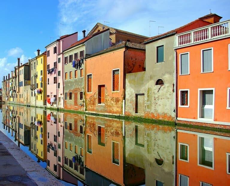 La pequeña Venecia o Chioggia