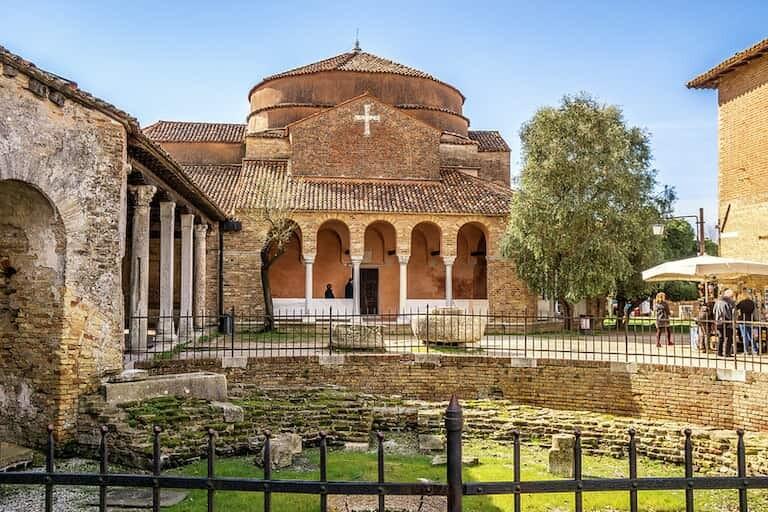 Iglesia de Santa Fosca en Torcello.