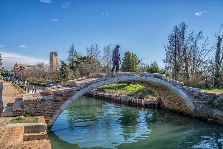 El puente del Diablo en Torcello