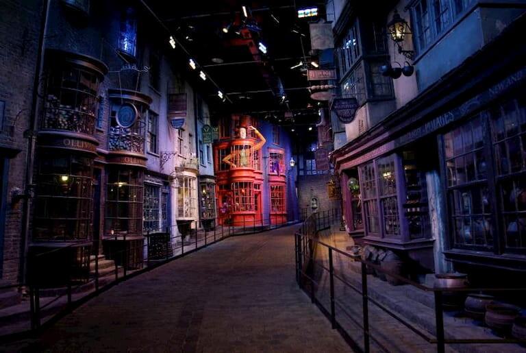 Diagon Alley en Warner Bros Studios Tour de Harry Potter