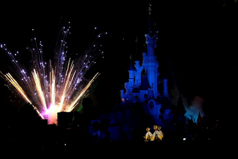 Espectáculo nocturno Disney Illuminations