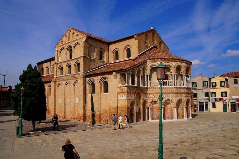 Basílica de Santa María y Donato en Murano