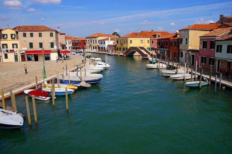 Gran Canal de Murano.