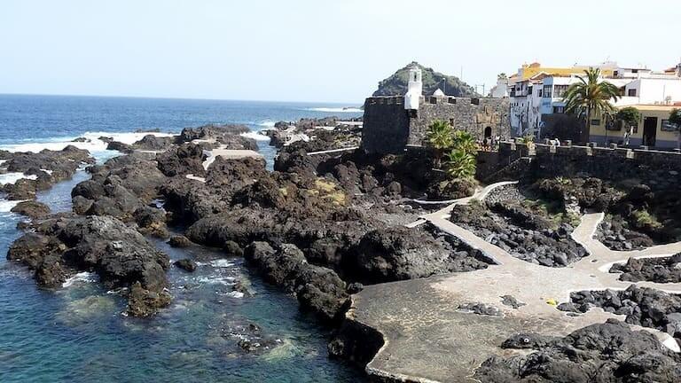 El Castillo de San Miguel en el Caletón.