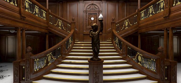 La Escalera del Titanic.