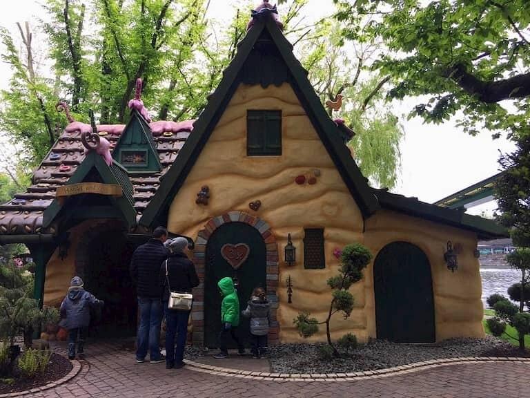 Una casita de Europa Park