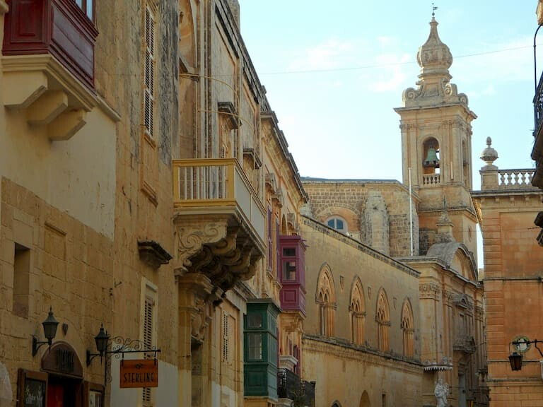 La ciudad amurallada de Mdina, en Malta