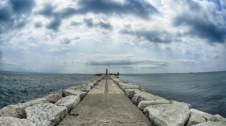 Faro de San Nicolò en Lido