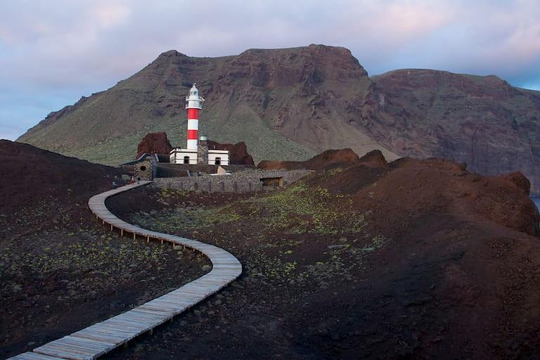 El Faro de Punta Teno en Tenerife