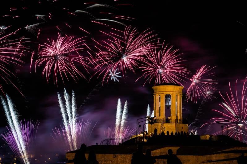 Firework Festival en Malta