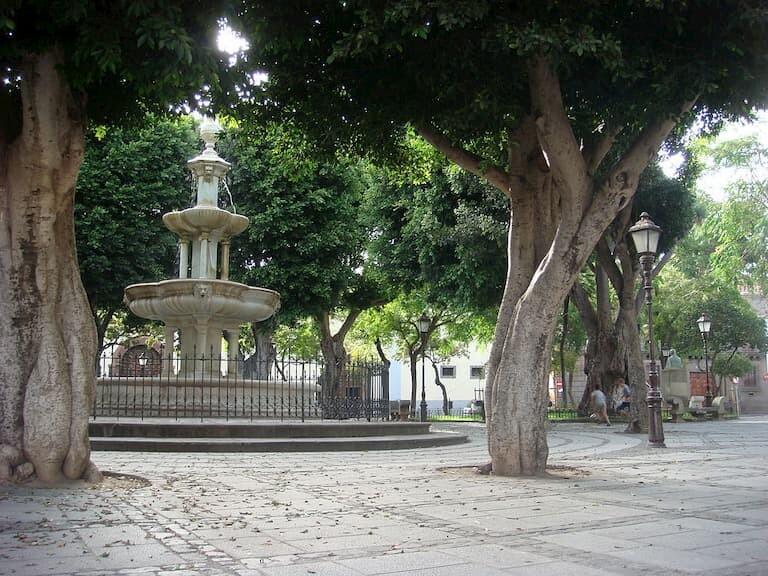 La fuente de la Plaza del Adelantado