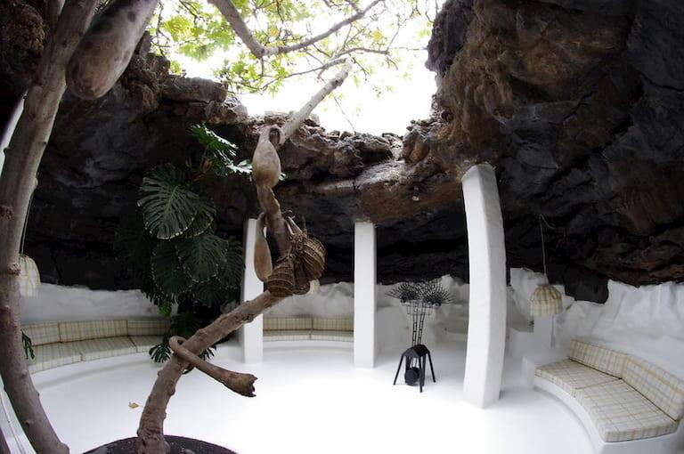 Interiores de la Fundación César Manrique.