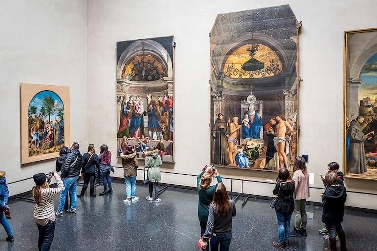 Pinturas de la Galería de la Academia de Venecia