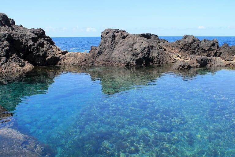 El Caletón, piscninas naturales de Garachico.
