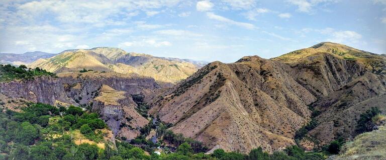 Paisajes del Garni Gorge