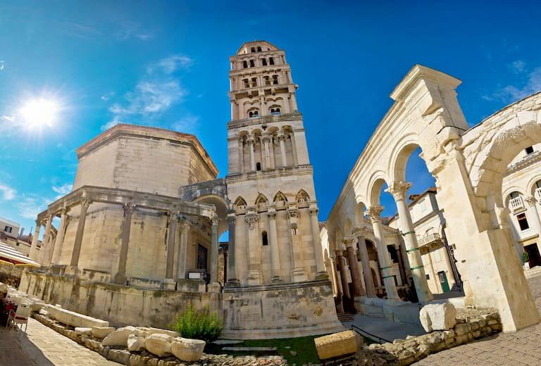 La Catedral de Split con su torre
