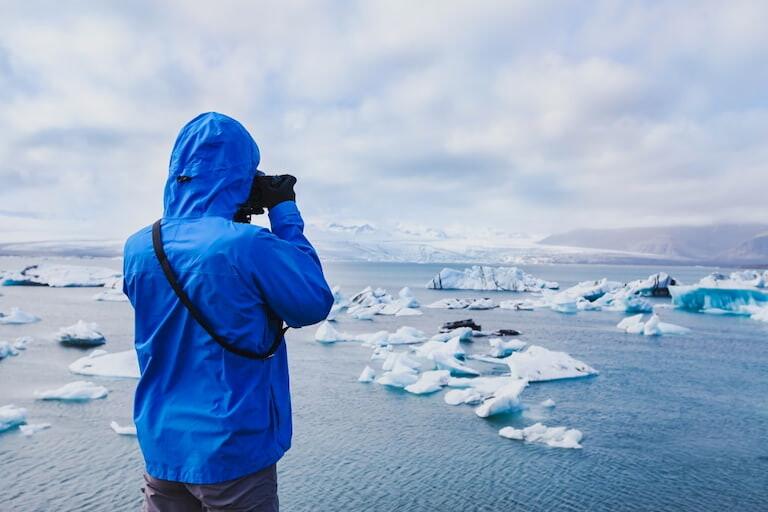 Glaciares e icebergs en Islandia