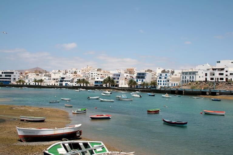 El Golfo, uno de los pueblos más bonitos de Lanzarote.