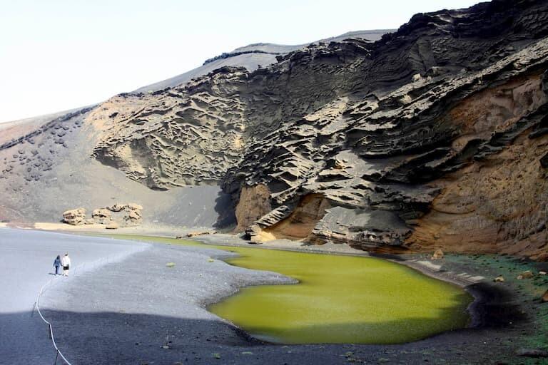 Lago Verde en el Golfo