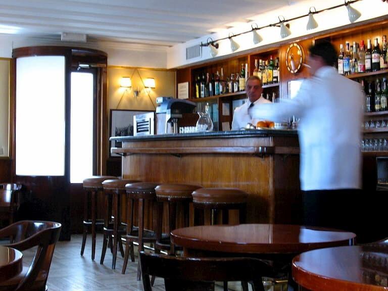 Harry's Bar en Venecia.